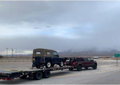 Through the Nevada desert