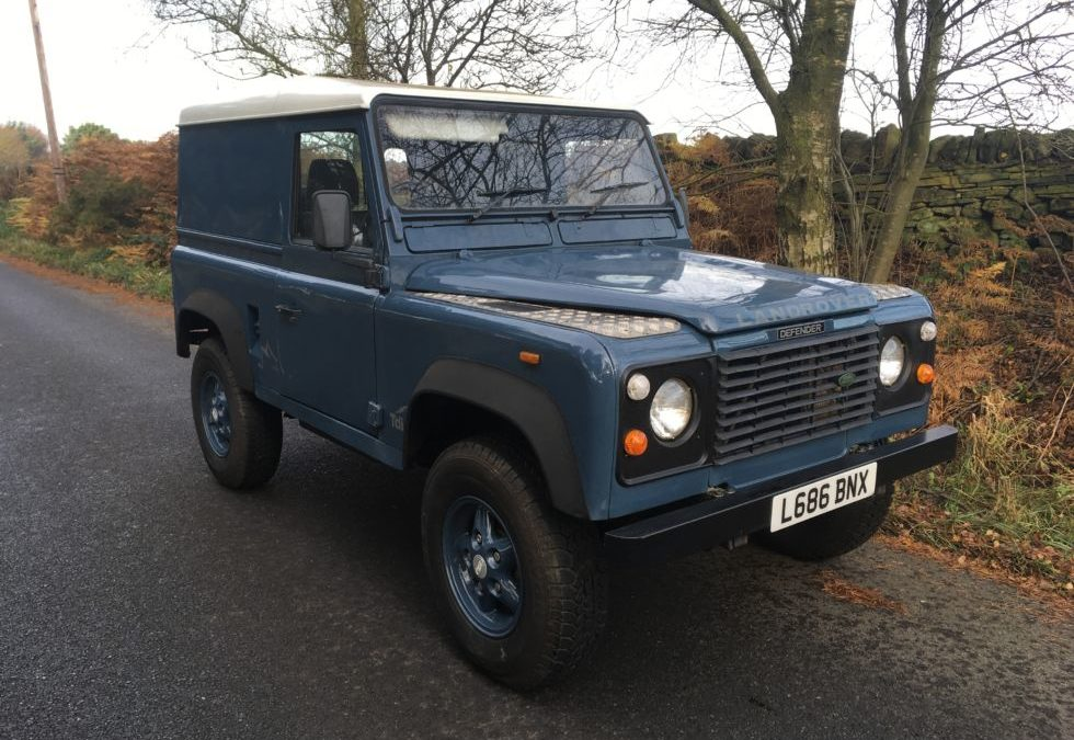 Export to Zambia – 1994 Land Rover Defender 90 – 200 TDi