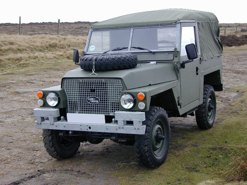 Land Rover series 3 lightweight x-mod soft top