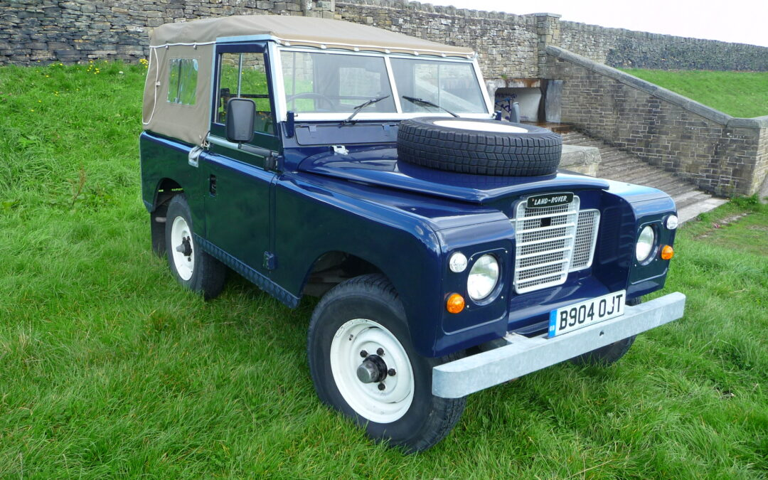 New Arrival – 1984 Series 3 Soft Top – One of the last !