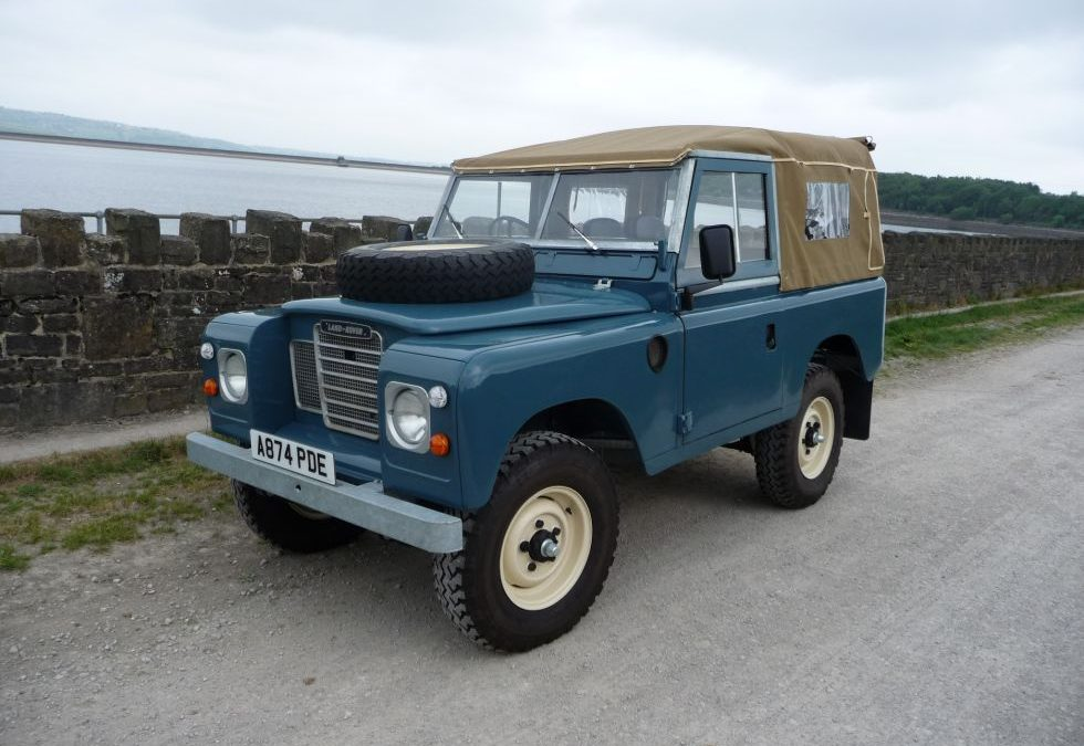 1983 Land Rover Series 3 – Purchased by Anthony in Hampshire