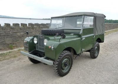 1953 Land Rover Series 1 - 80""