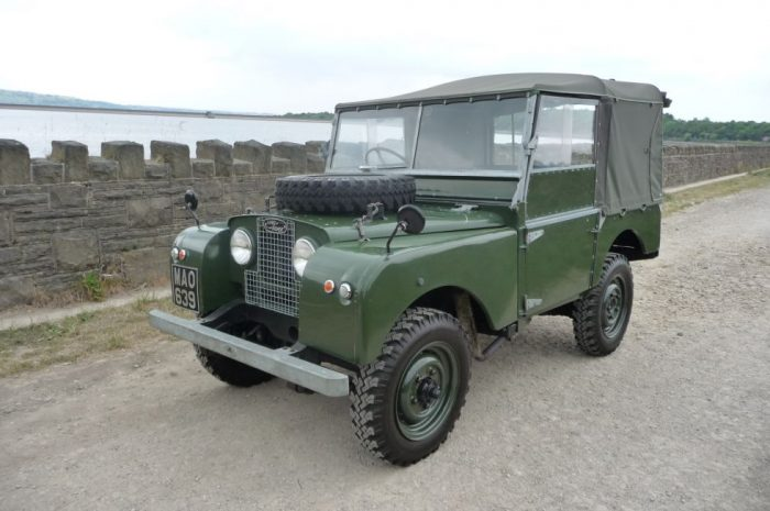 """1953 Land Rover Series 1 - 80"""""""