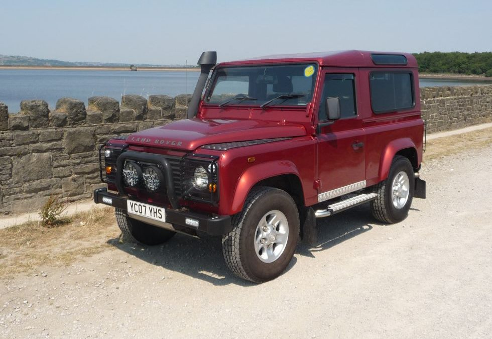 2007 Land Rover Defender 90 CSW – Collected by Alex and Hannah