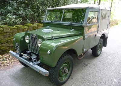 1955 Land Rover 86 Series 1
