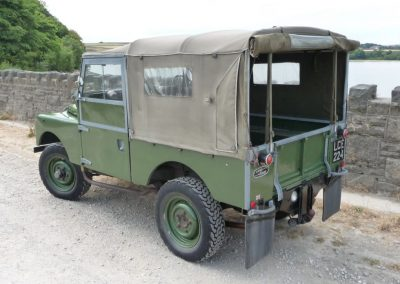 1955 Land Rover 86 inch