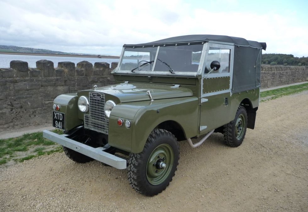 New Arrival – 1956 Land Rover Series 1 – 86 inch