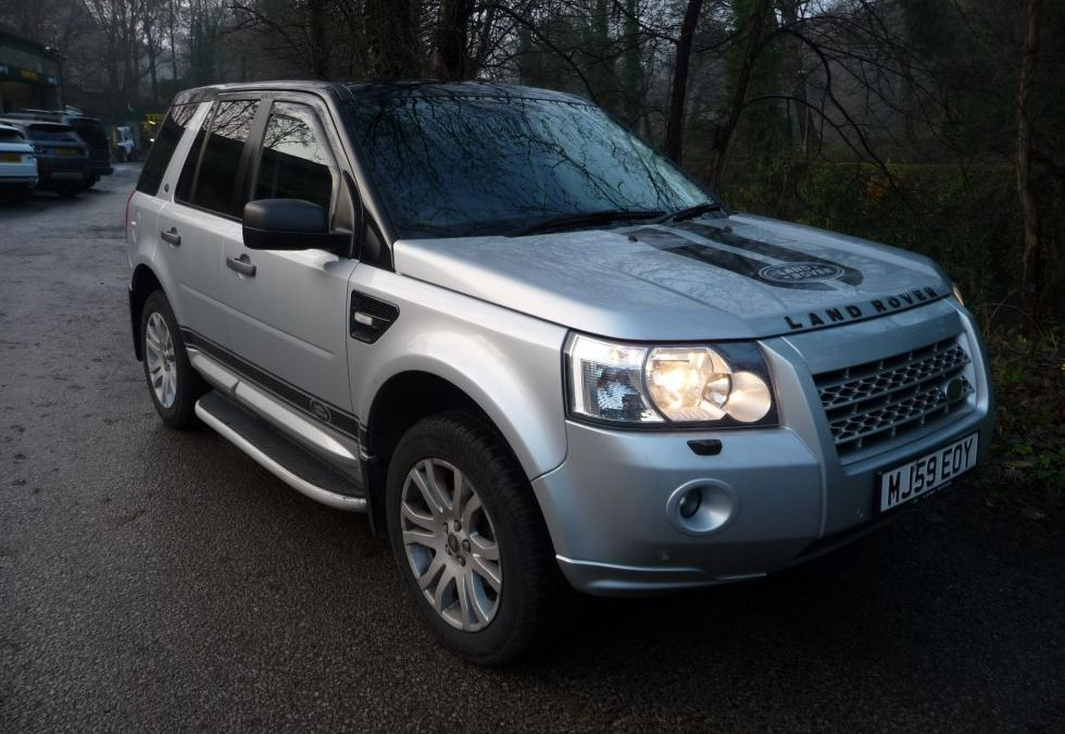 New Arrival – 2009 Freelander 2 HSE – Manual