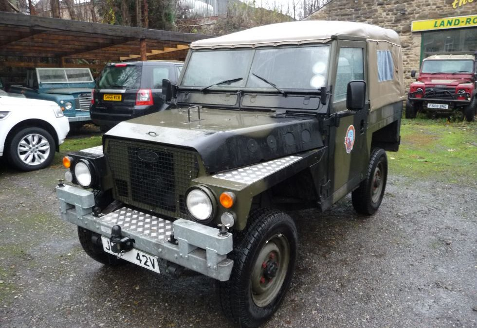 Land Rover Lightweight – Purchased by Paul in Norfolk