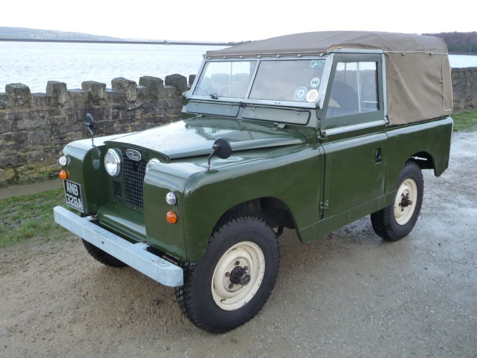 Land Rover Series Ii Iia Repair Operation Manual