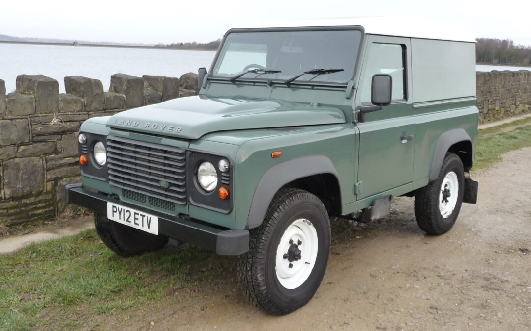 Low mileage Defender 90 – Purchased by Sally in Cornwall