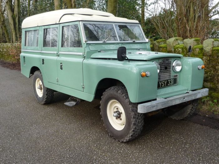 1963 Land Rover Dormobile
