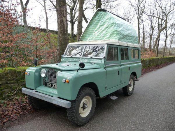 1963 Land Rover Dormobile