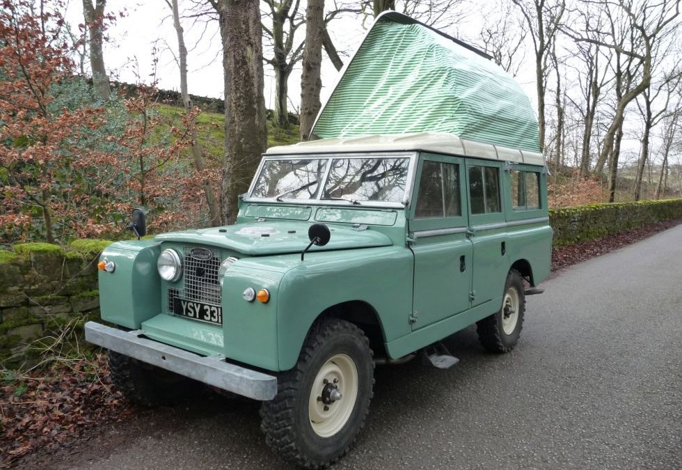New Arrival – Rare 1963 Series IIA Dormobile !