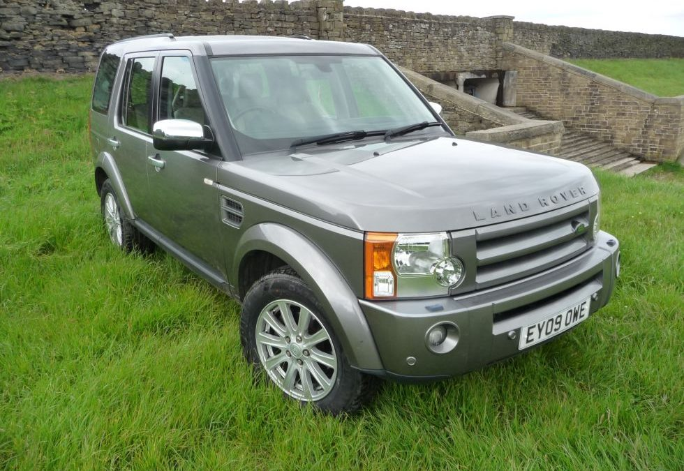 Discovery 3 – Purchased by Yvonne from South Yorkshire