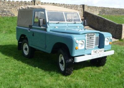 1982 Series III Land Rover