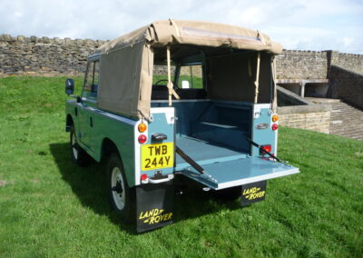 1982 Land Rover Series 3 soft top
