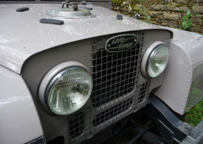 Delightful 1954 Land Rover Series 1 for USA export
