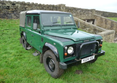 2004 110 Defender double cab