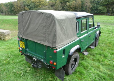 2004 Land Rover Defender 110 double cab