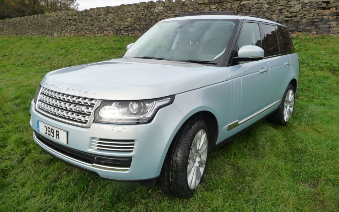 2015 Range Rover Vogue SE – Purchased by Richard and Wendy from Sheffield