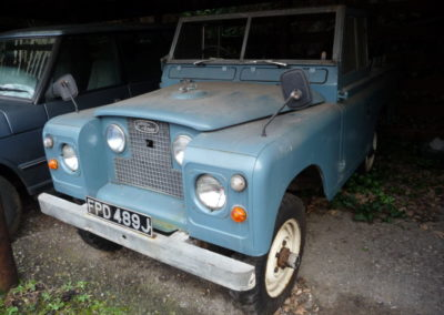 LAND ROVER SERIES iia - FOR EbAY
