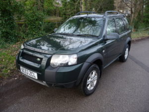 Freelander 5 door diesel manual