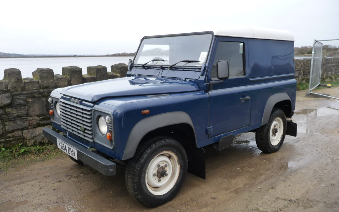 2004 Defender – Purchased by Keith from County Durham