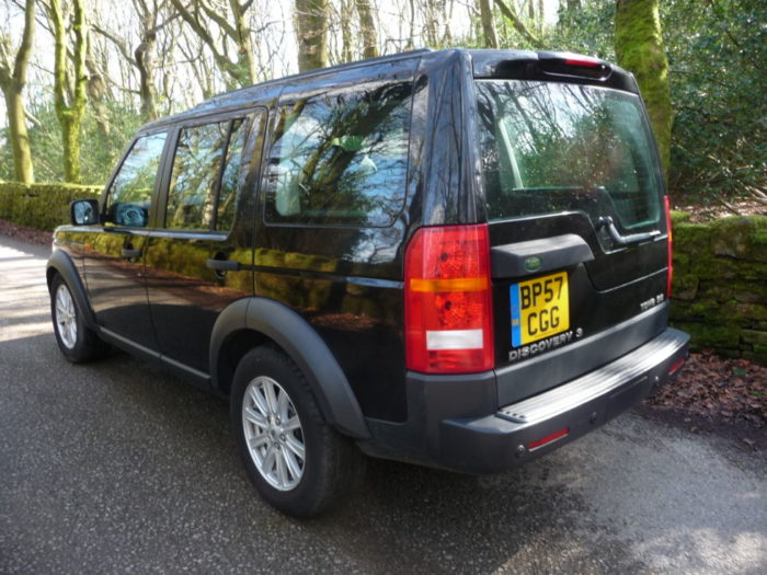 low mileage Land Rover Discovery 3