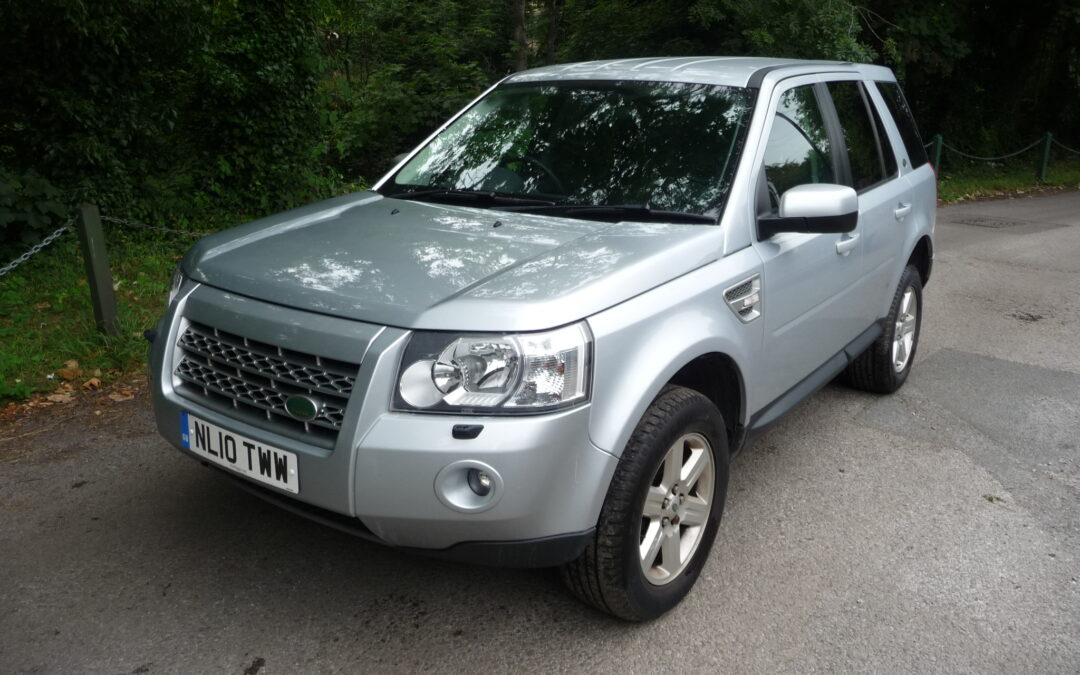 Low mileage 2010 Freelander 2 – Purchased by Jeannette from Lancashire