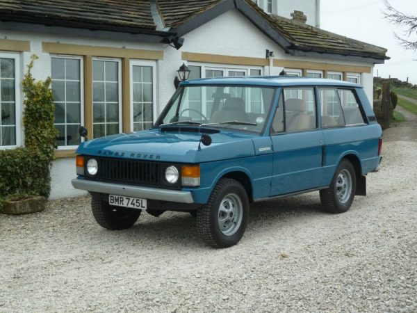 "BMR 745L - 1972 ""Suffix A"" 2 Door Range Rover Classic - Tax exempt"