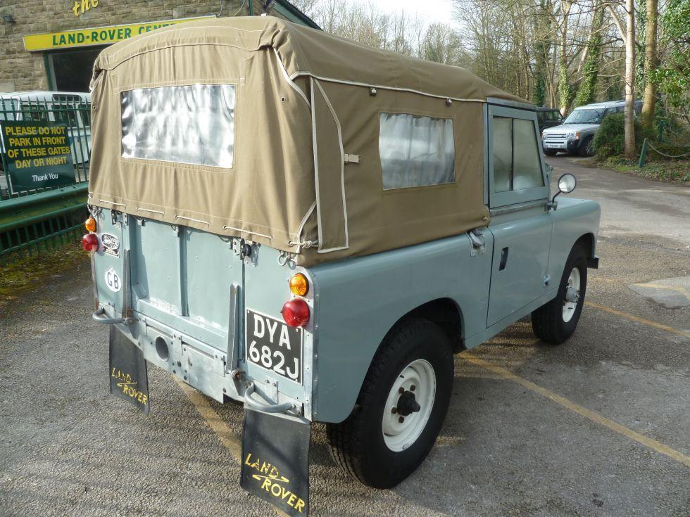 1971 Land Rover Series IIA