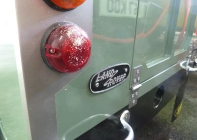 HUE 166 - Heritage Electric Land Rover