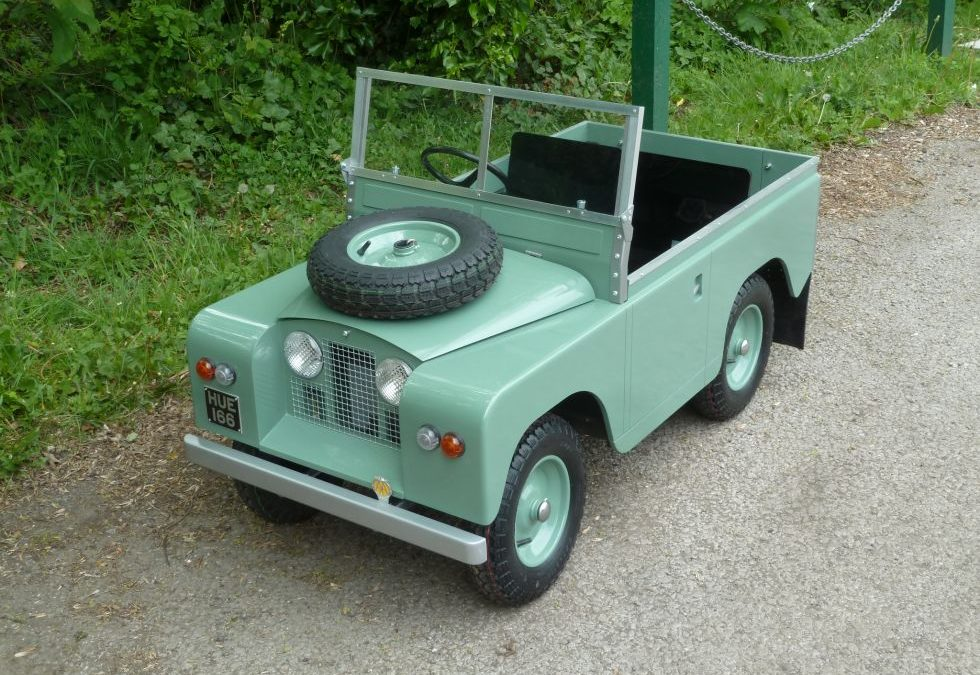 Ready for delivery – One for the younger Land Rover Enthusiasts