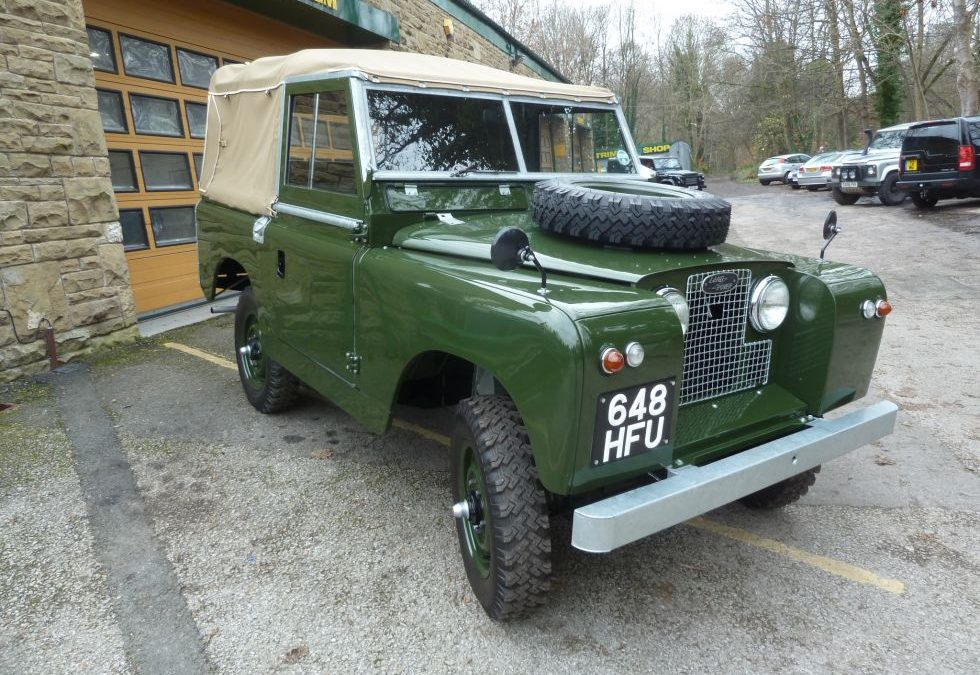 1959 Land Rover Series II – Purchased by client in Japan