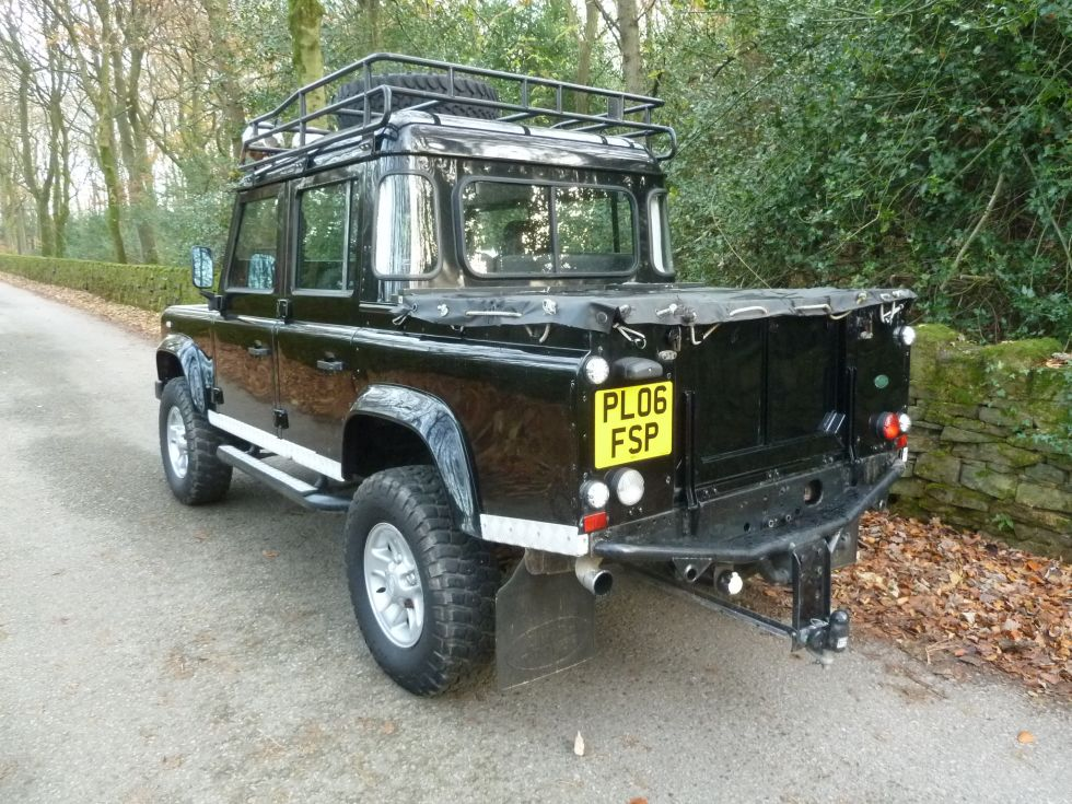 2006 Land Rover 110 Double Cab