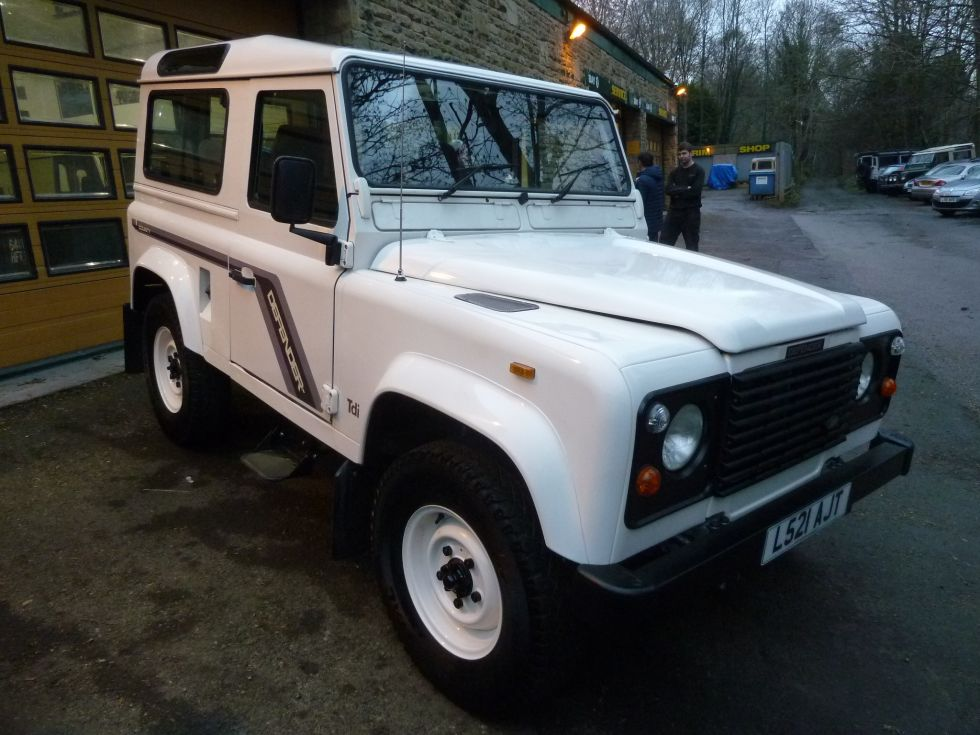 Low Mileage Defender Collected - Land Rover Centre