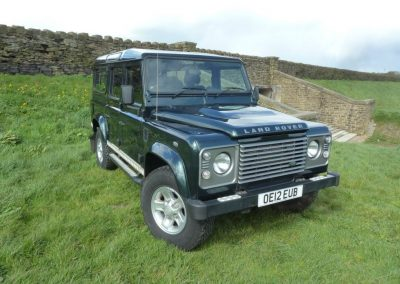 OE12 EUB - 2012 Land Rover 110 Defender 7 seater County Station Wagon