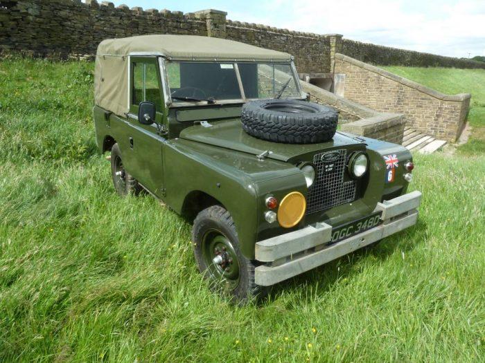 1966 X-MOD Land Rover Series 2A