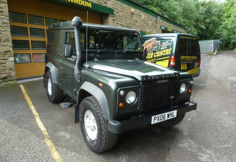 2006 Land Rover Defender 90 – Collected by Ray from York