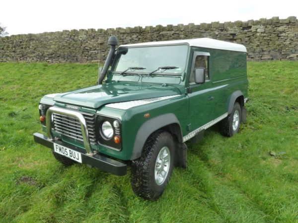 2005 Defender 110 Hard Top