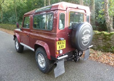 2002 Land Rover Defender 90 County Station Wagon