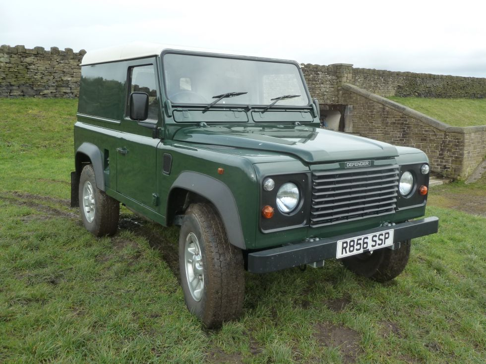 300 TDi Defender - Galvanised Chassis