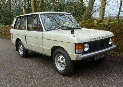 1971 Range Rover 2 door classic