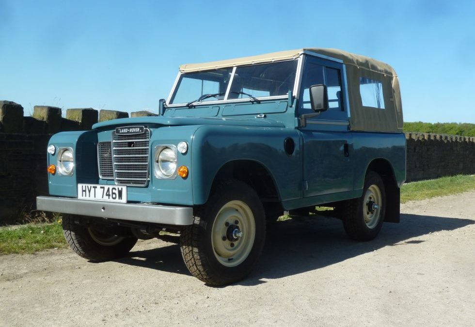 1981 Series 3 soft top – Reserved by Andrew in Wiltshire