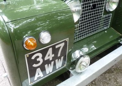 1962 Land Rover Series 2A Diesel - 63,000 miles