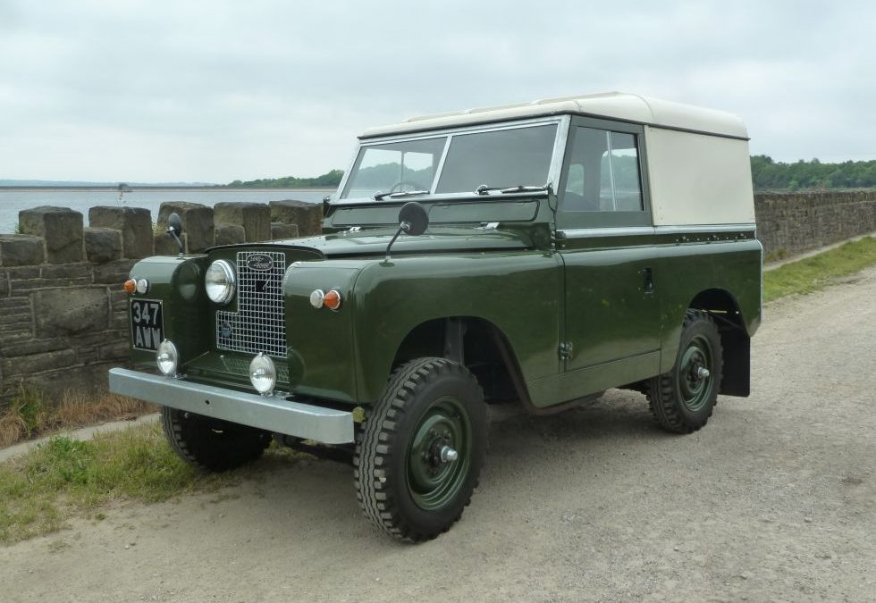 1962 Series IIA Land Rover – Purchased by Michael in Wiltshire