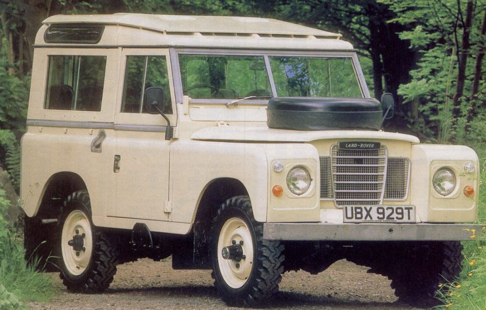 Land Rover series III petrol - original 7 seater station wagon