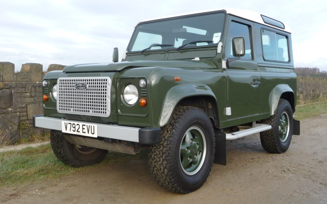 Our 1999 Defender 90 Heritage – Purchased by Wilhelmus