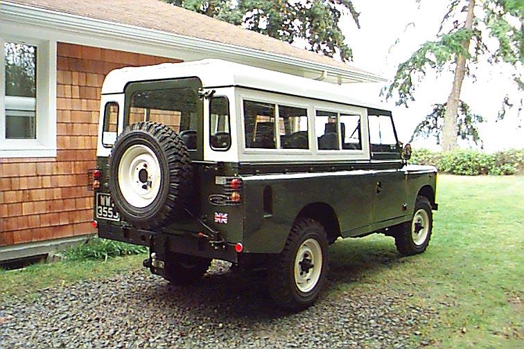1971 Land Rover series IIA 109 LHD - Finally arrives in Bainbridge Island